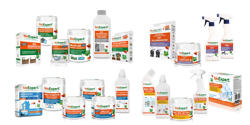 linia produktów bioExpert